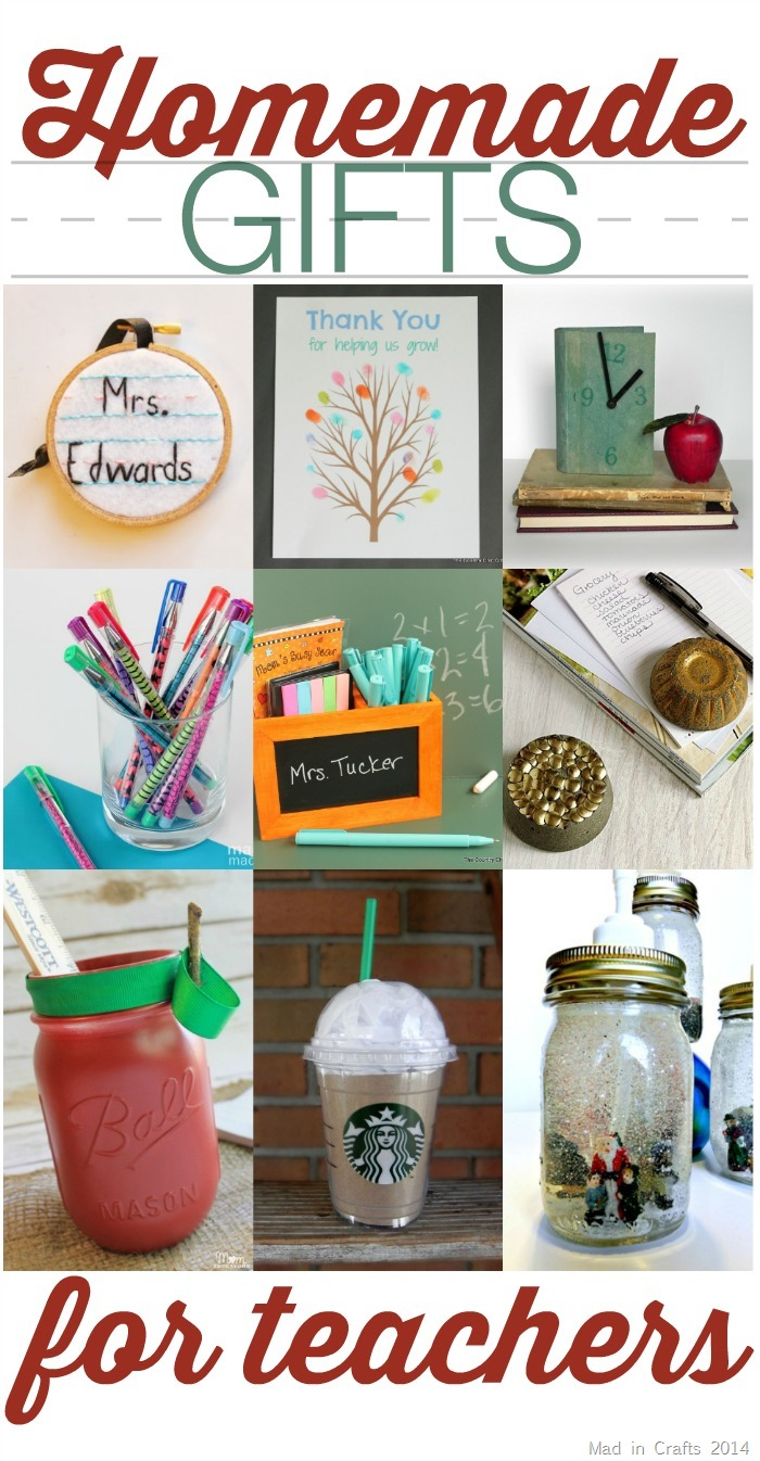 handmade gifts for teachers gifts for teachers mad in crafts 1175
