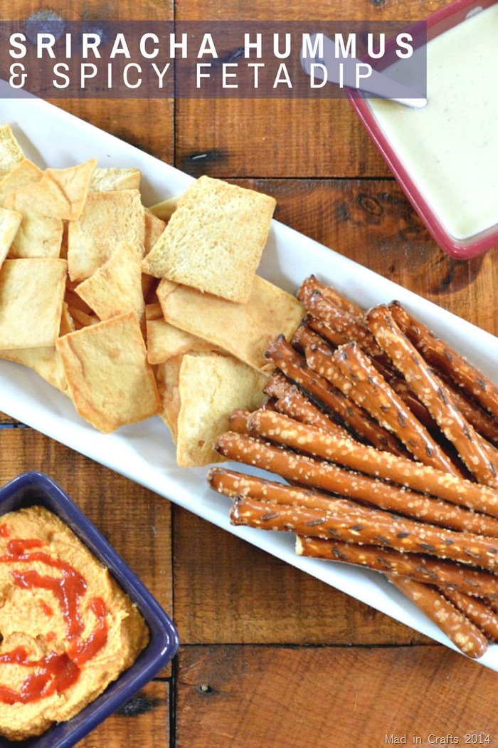 TWO ADDICTIVELY SPICY DIPS