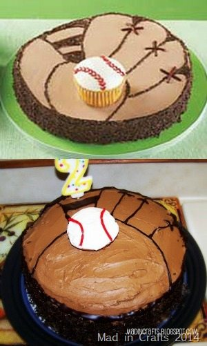 baseball cake fail
