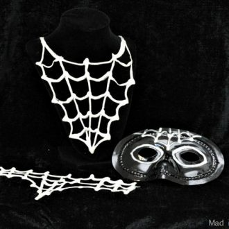 Halloween diy spider costume accessories