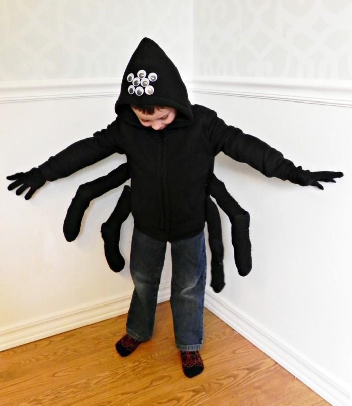 spider costume eyes