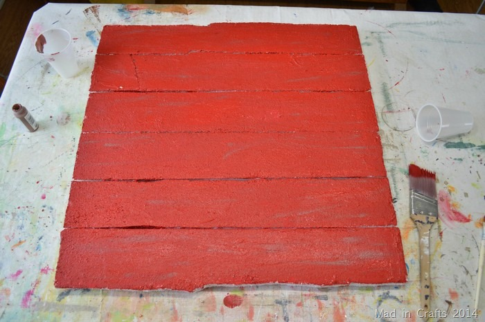 Distressed Faux Pallet