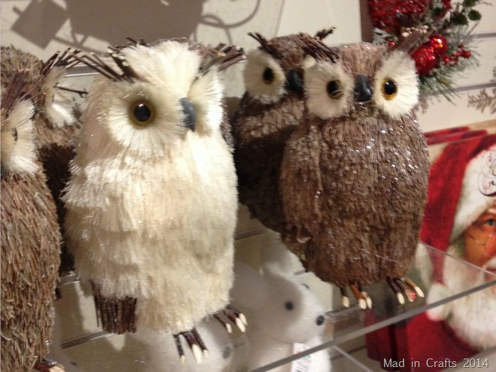 Christmas Woodland Owls
