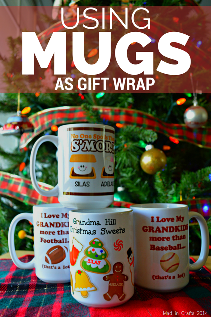 USING MUGS AS GIFT WRAPS
