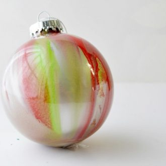 BLOWN GLASS INSPIRED ORNAMENTS