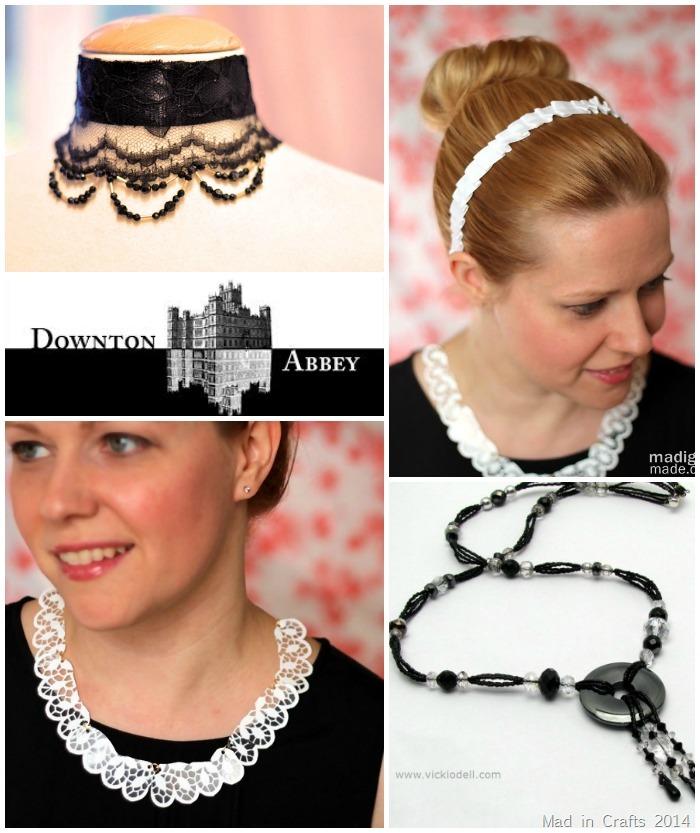 Downton Abbey Accessory Crafts