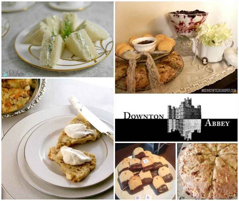 Downton Abbey Party Recipes