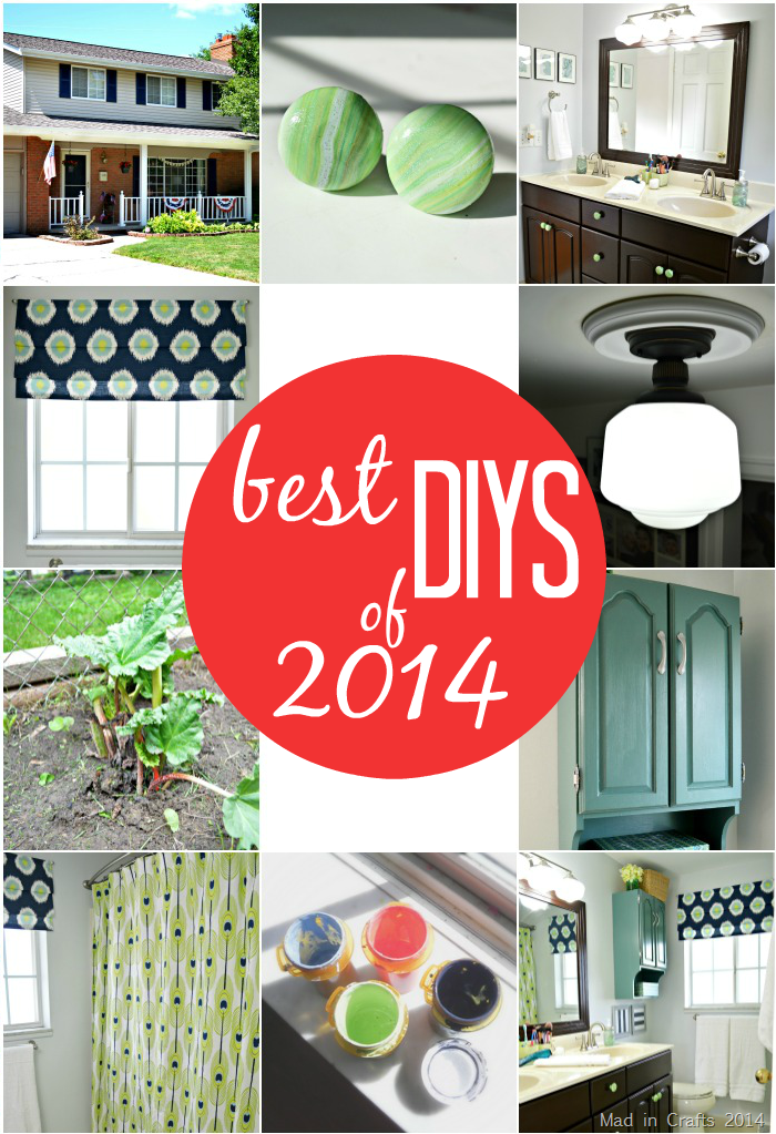 Mad in Crafts Best DIYs of 2014