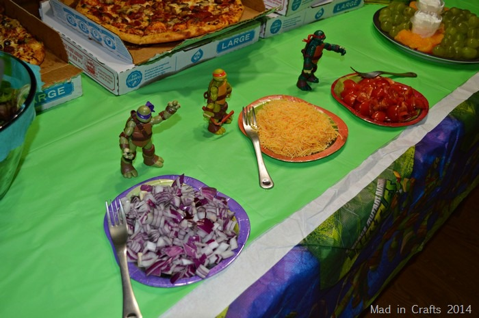 tmnt salad toppings