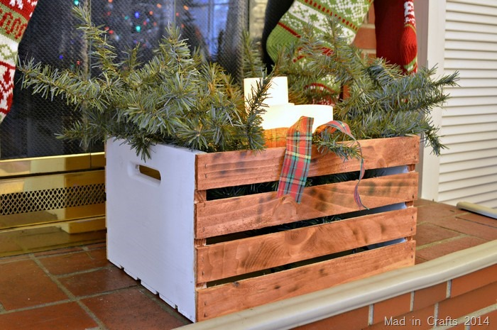 RUSTIC FIREPLACE HEARTH CRATE