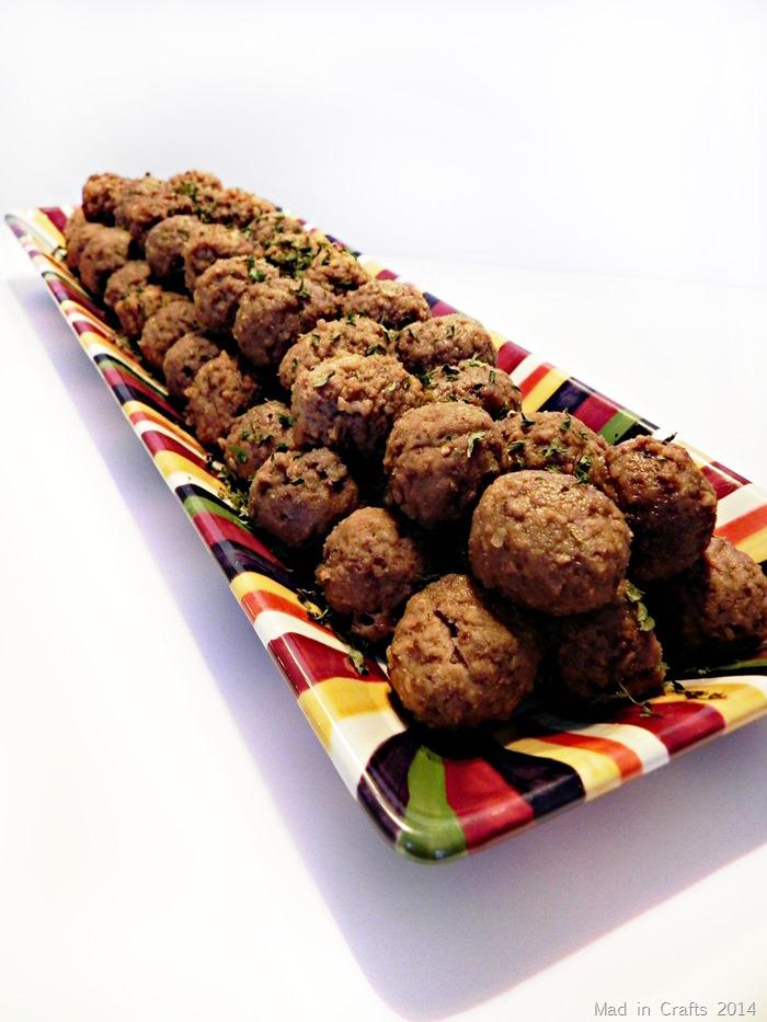 Crockpot Beer Meatballs