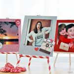 GLITTERY INSTAGRAM FRAMES FOR VALENTINE'S DAY