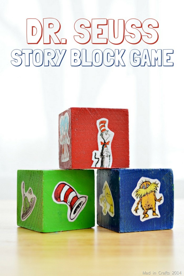 Dr. Seuss Story Block Game