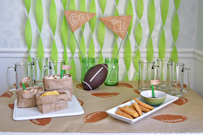 PRE-GAME PREP FOR YOUR BIG GAME PARTY