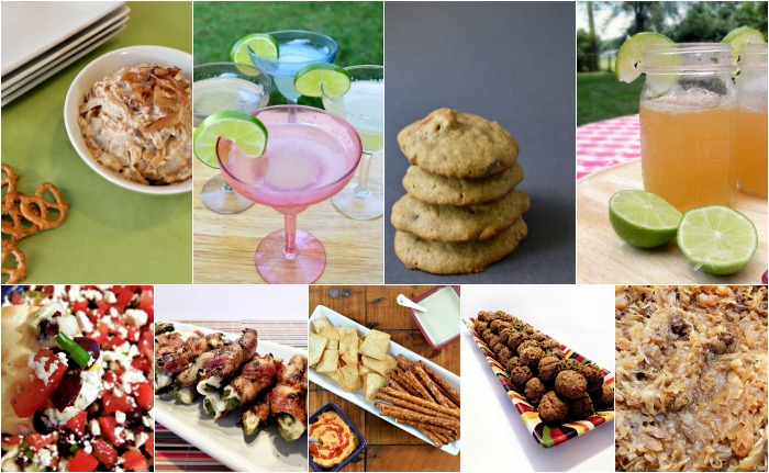 FOOTBALL PARTY FRIENDLY RECIPES