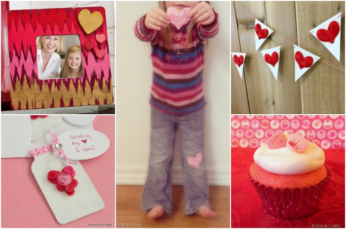HUGE LIST OF VALENTINE CRAFTS, RECIPES & MORE!
