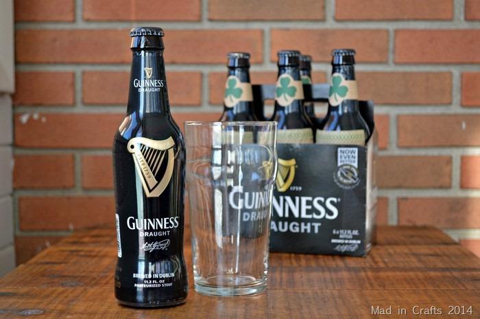 Guinness St Patricks Label
