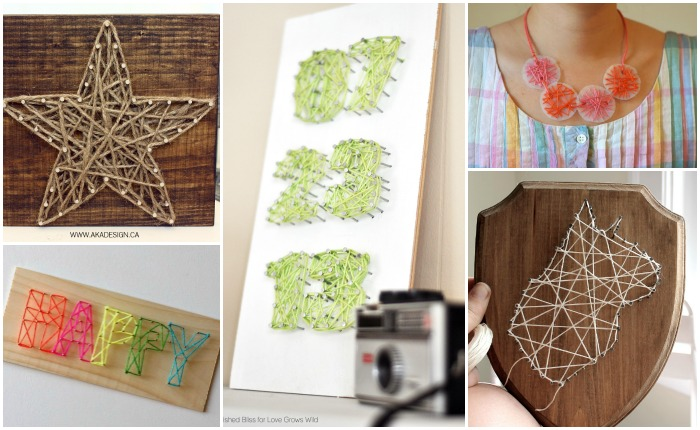 10 FANTASTIC STRING ART PROJECTS