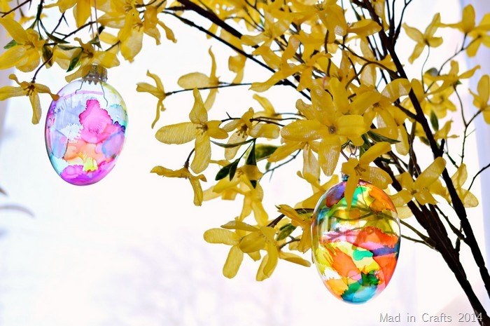 Glass Easter Eggs