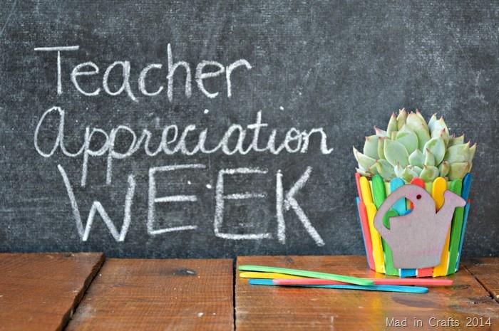 Teacher Appreciation Flower Pot