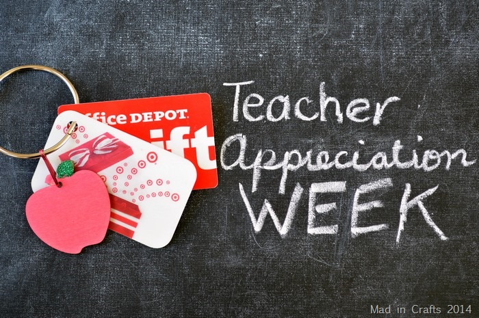 Teacher Appreciation Gift Card Ring