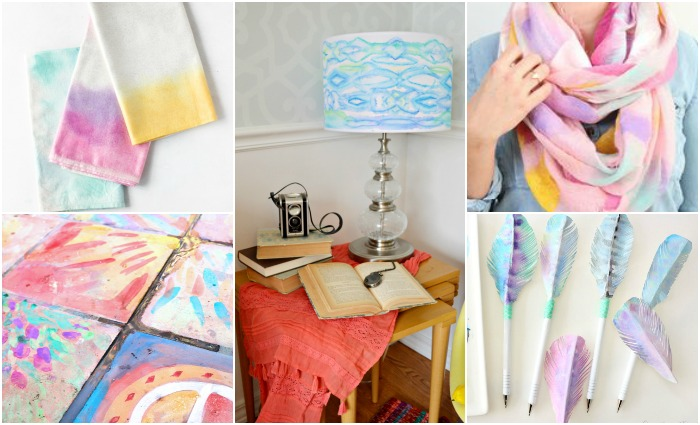15 SHOW STOPPING WATERCOLOR DIYS