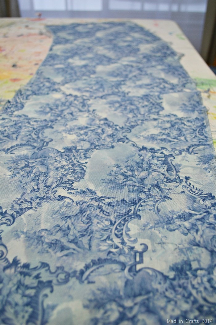 dyed print fabric