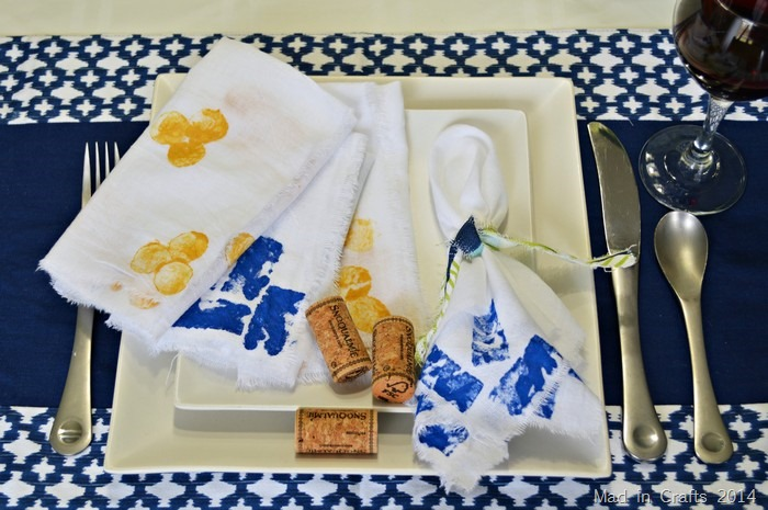 Block Printing with Corks