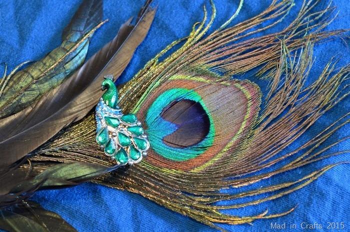 DIY Peacock Necklace