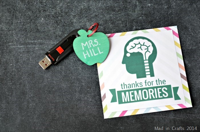 Teacher Gift with Printable Card