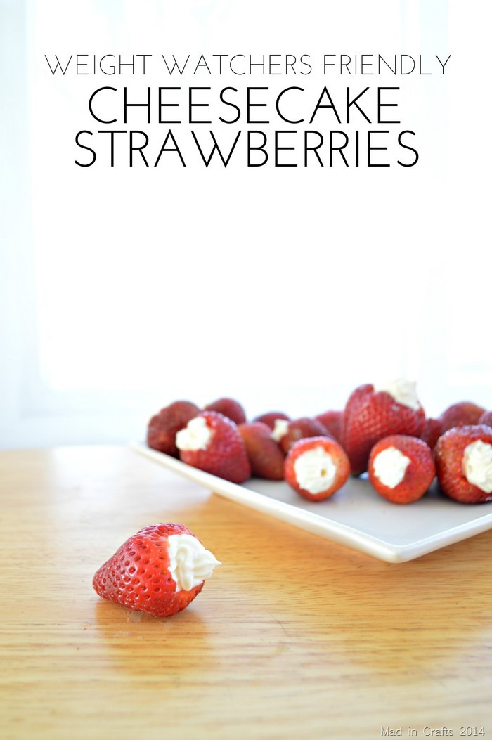Weight Watchers Cheesecake Strawberries