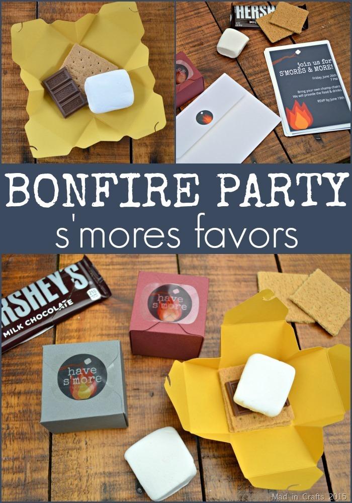 Bonfire Party Favors