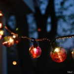 WATERCOLOR OUTDOOR GLOBE LIGHTS