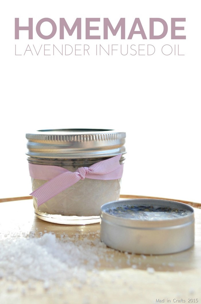 Homemade Lavender Infused Oil