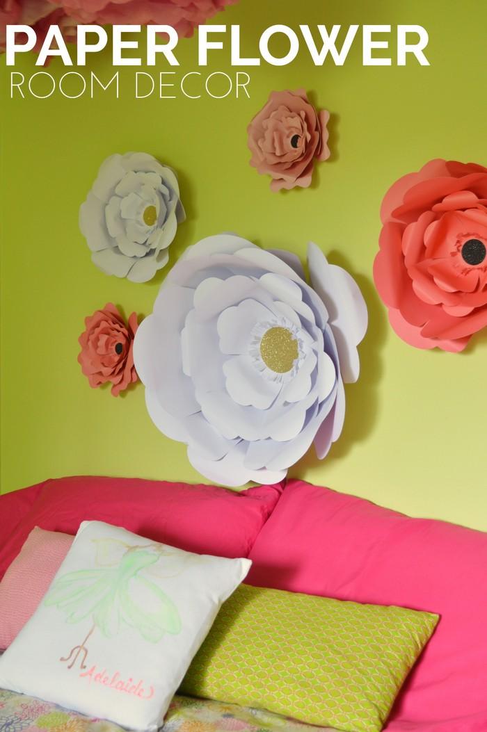 Paper Flower Room Decor
