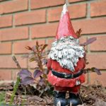 REPAINTED GARDEN GNOME