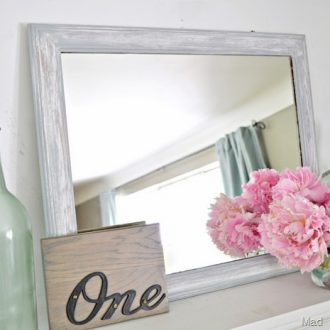 BEACHY MIRROR MAKEOVER
