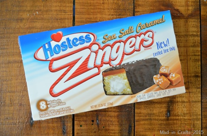 Sea Salt Caramel Zingers