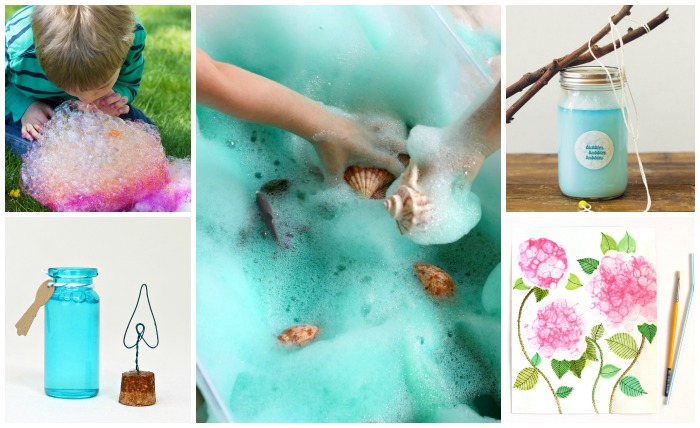 GOOD, CLEAN FUN: 10 BUBBLE CRAFTS