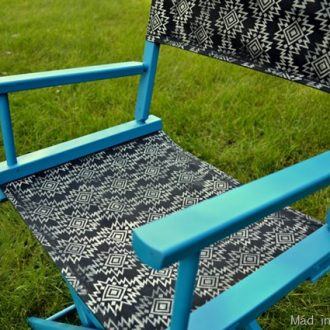 PAINTED & PRINTED DIRECTOR'S CHAIR