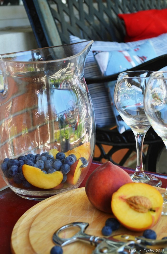 fruit in pitcher