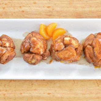 MANDARIN ORANGE MUFFIN TIN MONKEY BREAD