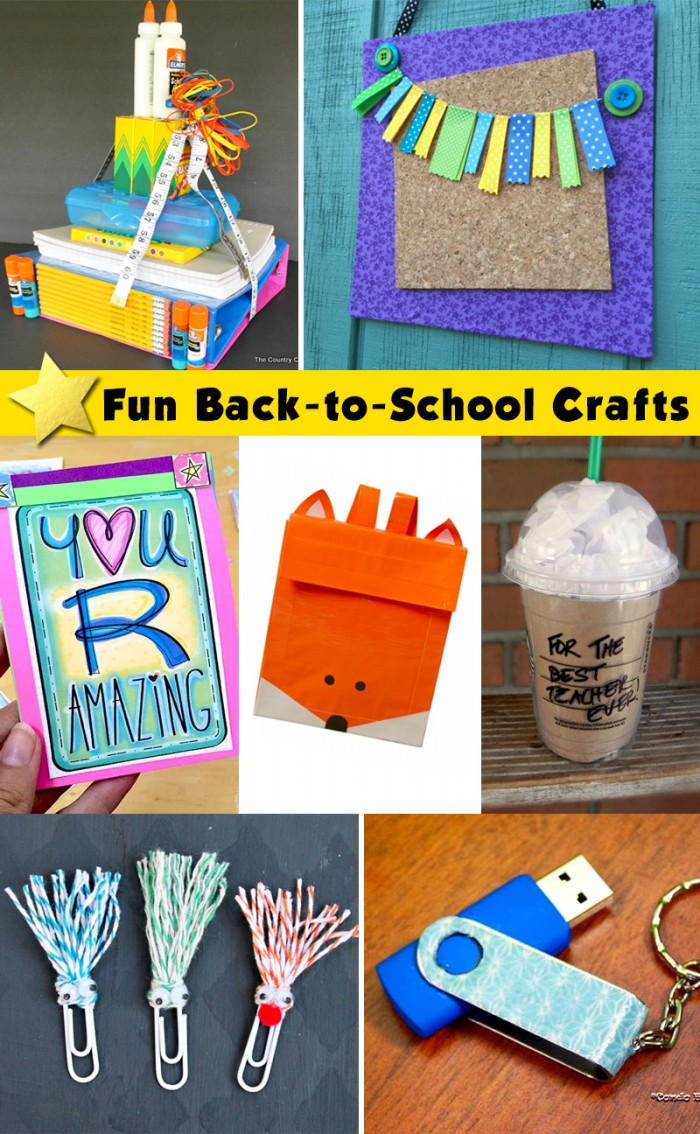 Fun Back to School Crafts!