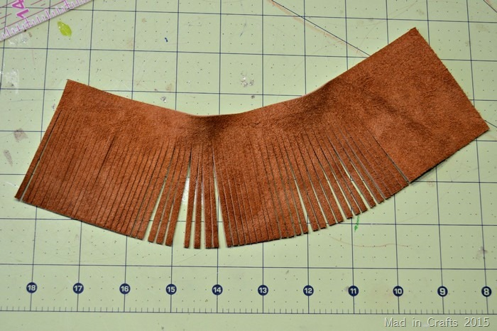 diy leather fringe