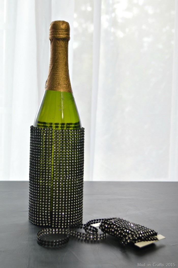 bling on a roll bottle