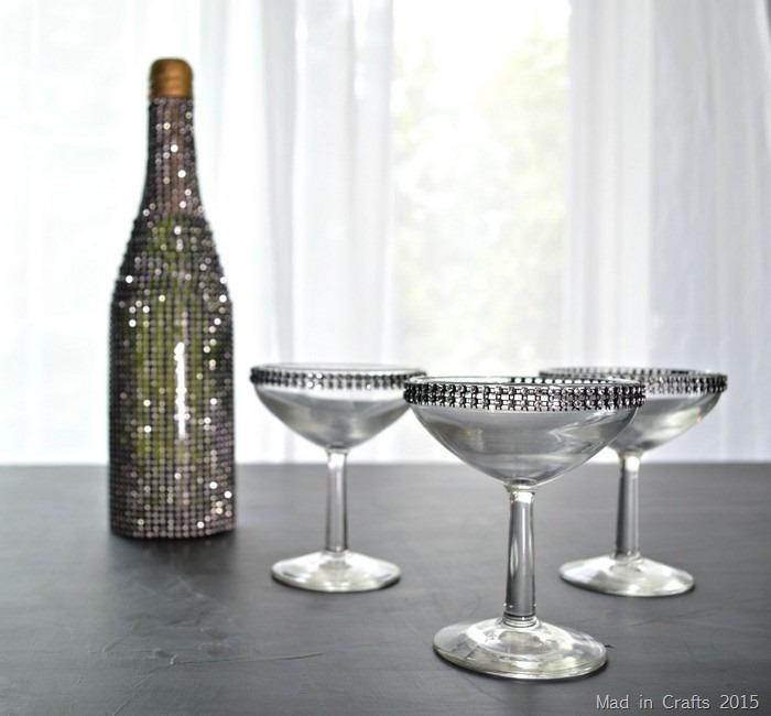 rhinestone champagne