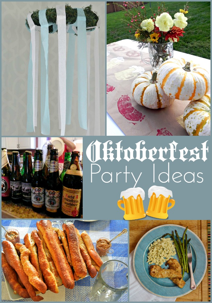 OKTOBERFEST PARTY IDEA ROUNDUP