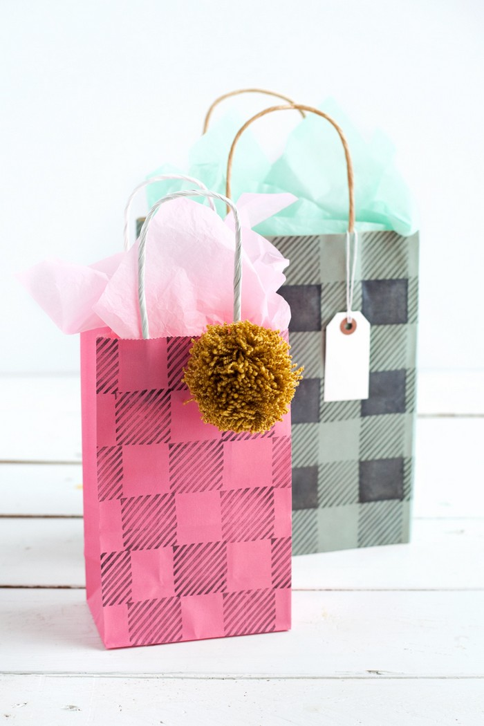 buffalo plaid stamps