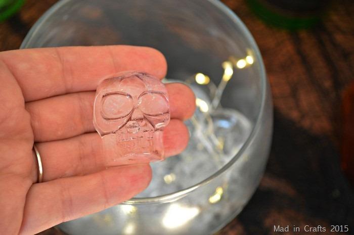 skull ice cubes