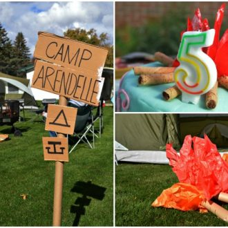 CAMP ARENDELLE: A FROZEN/CAMPING PARTY